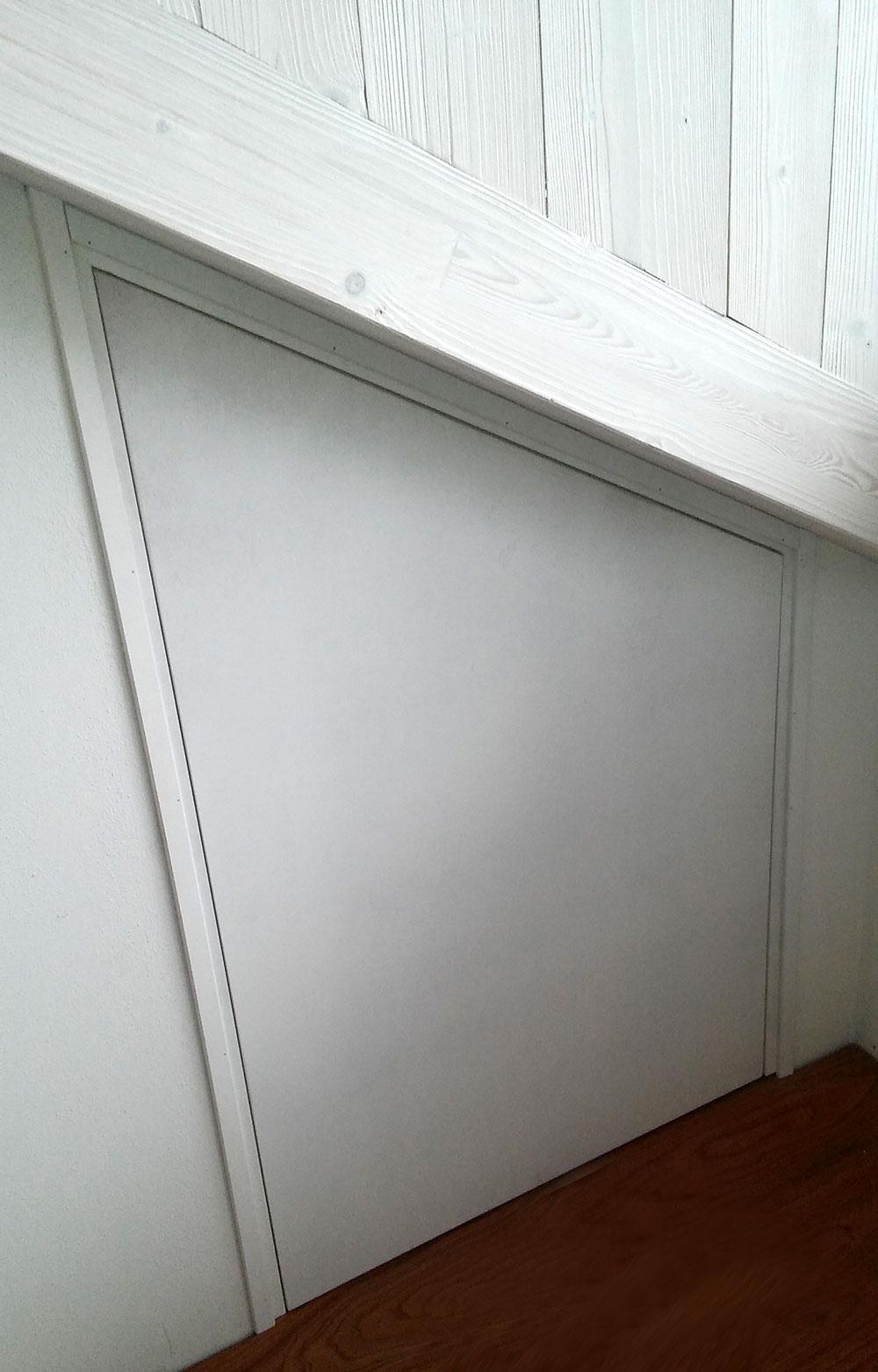 Armadio Raso Muro sistemi raso parete per nascondere porte e armadi - serrtec